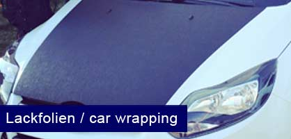 Auto folieren / Car wrapping