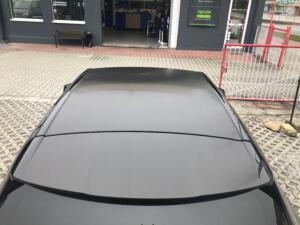 Autofolierung, Auto folieren Dach final