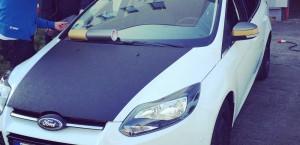 car wrapping pkw motorhaube