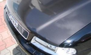 lackfolie chrome optik motorhaube